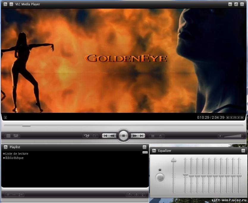 VLC media player 1.1.1 + Portable (Multilanguage/Rus, 2010)