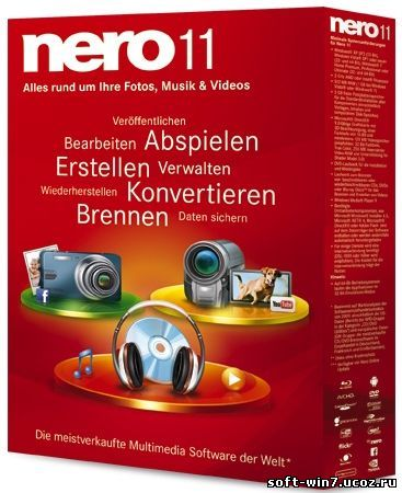 Nero Multimedia Suite 11.2.00400 (Multilanguage/Rus, 2012)