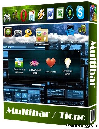 Мультибар Тикно v.1.1.1.1 (Windows 7/Vista/XP)