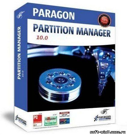 Paragon Partition Manager 10.0 Personal (2010/ENG)